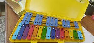 El AMPA compra 30 xilófonos para el aula de Música