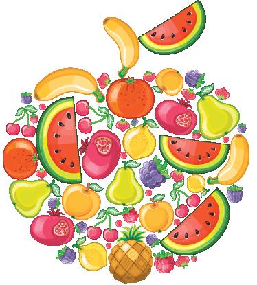 La Fruta en el Cole